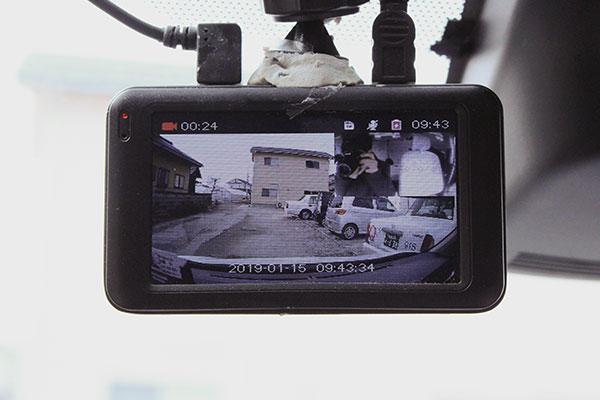 ドライブレコーダー・防犯カメラ・全車GPS連動カーナビ搭載